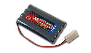 Tenergy 9.6V 2000mAh High Capacity NiMH Battery Pack for RC Car