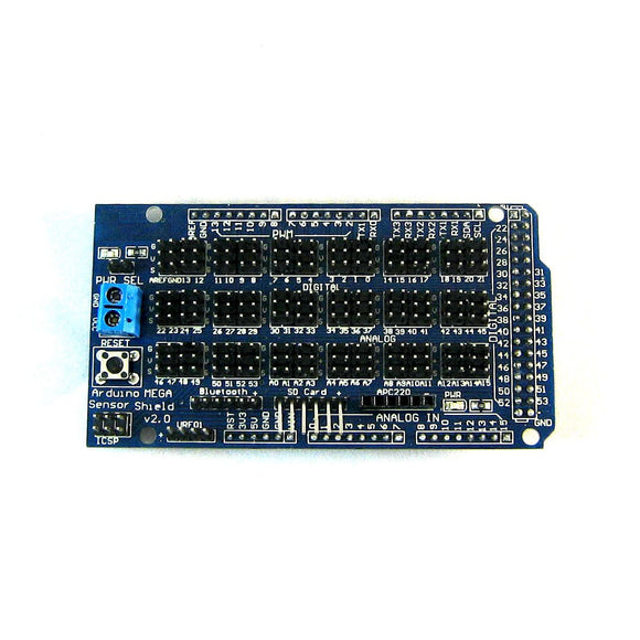 Mega Sensor Shield v2.0 for Mega 2560 R3