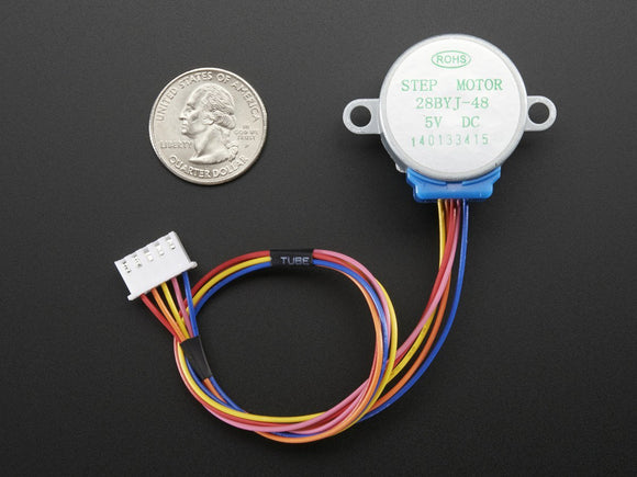 Small Stepper Motor (Unipolar 5V)