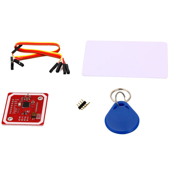 RFID/NFC Card Reader Kit (13.56MHz, PN532, Module + Card + Key Chain)