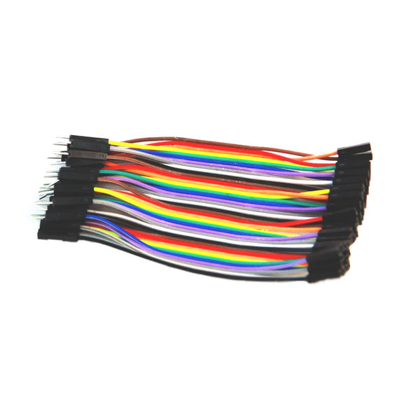 Premium Splittable Jumper Wire (40 Pins M/F 10cm)