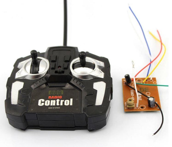 27MHz Remote Control Kit (Black Shell)