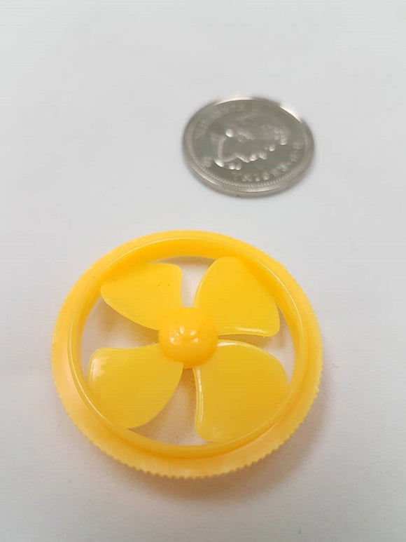 Fan Wheel Propeller (Yellow)