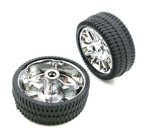 Wheel Pair - 26mm (Silver)