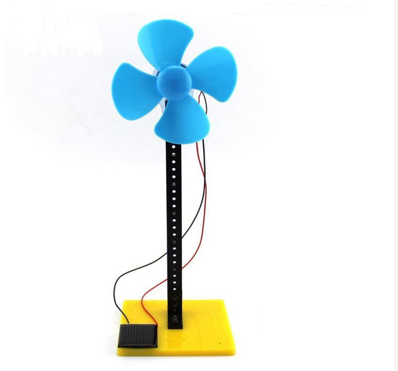 Solar Power Windmill (Blue/Red)