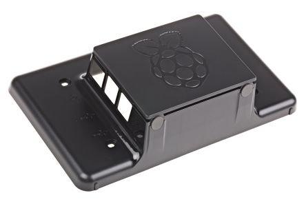 RS Raspberry Pi 7-Inch LCD Touch Screen Case (Black)