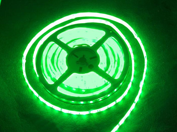 LED Flexi Strip 60 LED (1m Green)