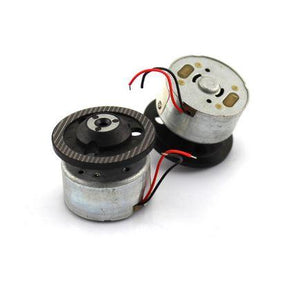 Micro 300 Hobby DC Motor with Tray