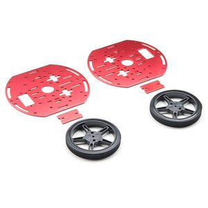 SparkFun Circular Robotics Chassis Kit (Two-Layer)