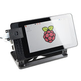 "SmartiPi Touch Case - Stand for Raspberry Pi 7"" Touchscreen Display"