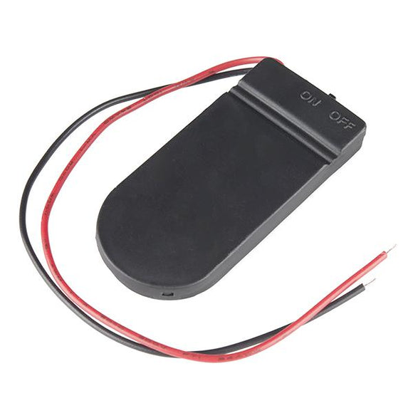2 x 2032 Coin Cell Battery Holder