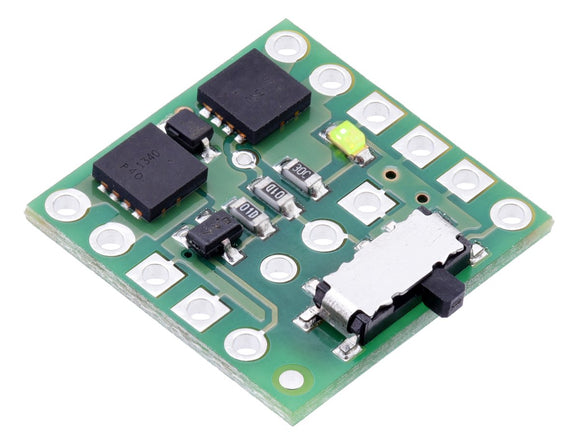 Pololu Mini MOSFET Slide Switch with Reverse Voltage Protection - SV