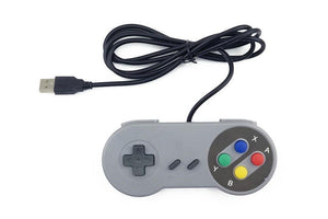 SNES Super Nintendo Style USB Controller Gamepad Joystick (great for Raspberry Pi)