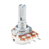 Rotary Potentiometer - Panel Mount (100k Ohm Logarithmic)