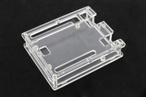 Basic Enclosure/Case for Arduino Uno Rev3 (Transparent)