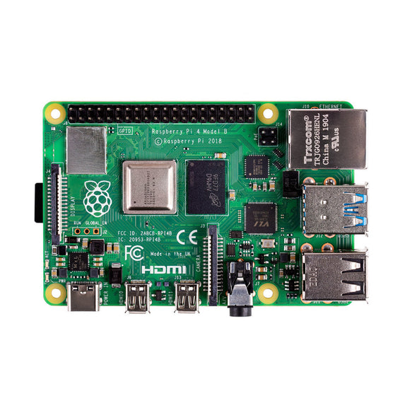 Raspberry Pi 4 Computer, Model B, 4 GB RAM