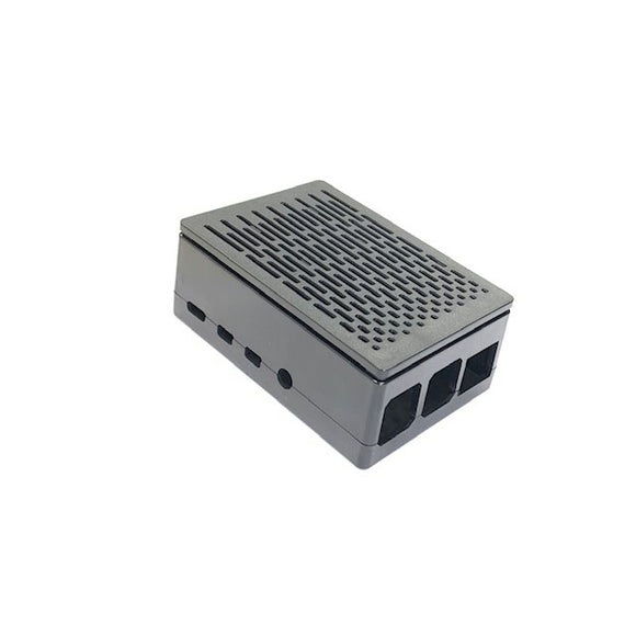 ABS Enclosure/Case for Raspberry Pi 4 B (Black)