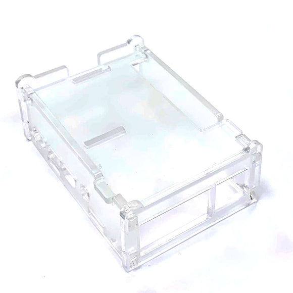 Acrylic Enclosure/Case for Raspberry Pi 4 B (Clear Transparent)