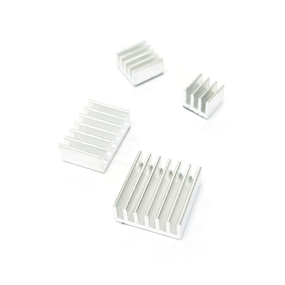 Heat Sink Kit for Raspberry Pi 4 B (4pcs Set)