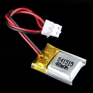 Lithium-Ion Polymer (LiPo) Battery (3.7V 40mAh)
