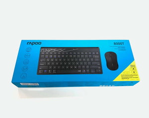 Black 2.4Ghz Wireless Keyboard with Mouse Kit for Raspberry Pi