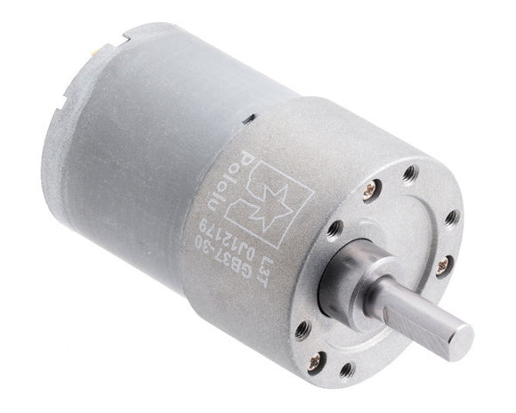 Pololu 30: 1 Metal Gearmotor 37Dx52L mm 12V (Helical Pinion)