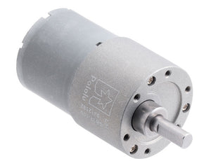 Pololu 100:1 Metal Gearmotor 37Dx57L mm 12V (Helical Pinion)