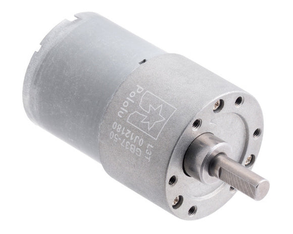 Pololu 50:1 Metal Gearmotor 37Dx54L mm 12V (Helical Pinion)