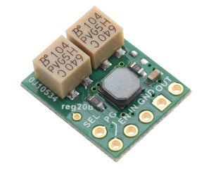 Pololu 2.5-9V Fine-Adjust Step-Up/Step-Down Voltage Regulator w/ Adjustable Low-Voltage Cutoff S9V11MACMA