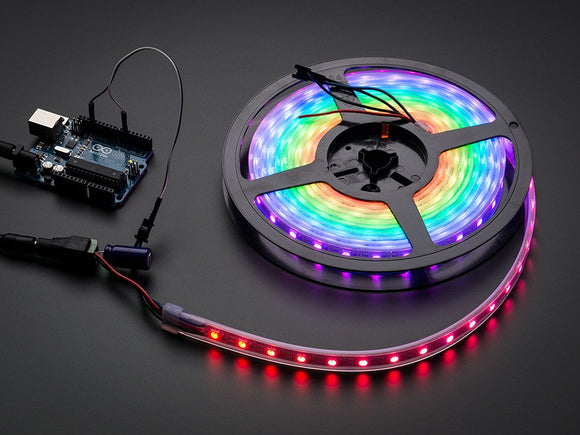 Adafruit NeoPixel Digital RGB LED Strip - White 60 LED - WHITE(1 meter)