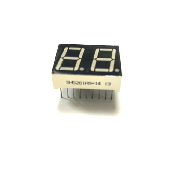 LED 7-Segment Display (0.56 inch 2-Digit Red)