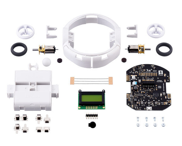 Pololu 3pi+ 32U4 Robot Kit with 30:1 MP Motors (Standard Edition Kit)