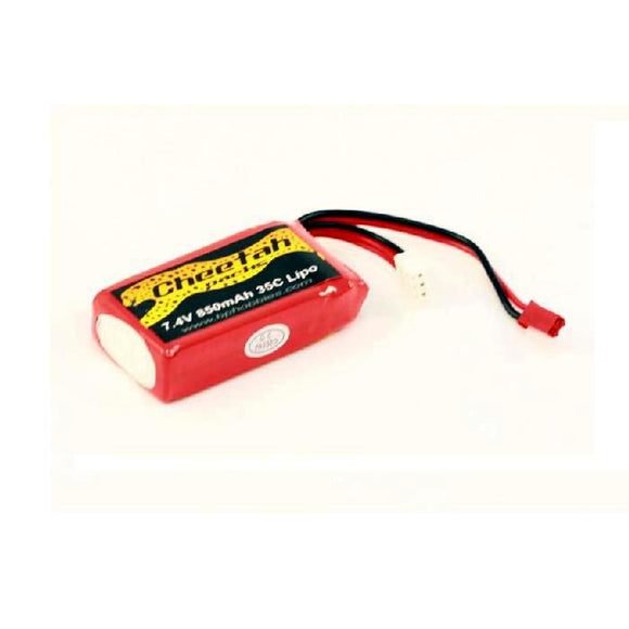 Lithium Polymer Battery Pack (850mAh 7.4V)