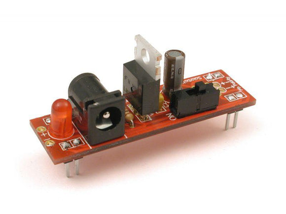 HVW Breadboard Voltage Regulator Kit (5V 500mA)