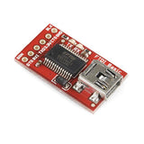 SparkFun FTDI Basic Breakout Board (3.3V) (without header)