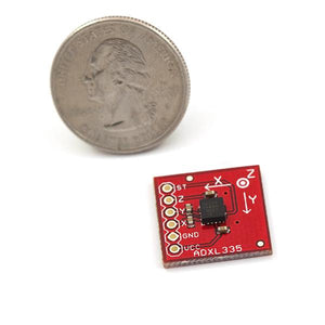 SparkFun 3g Triple Axis Accelerometer Breakout (ADXL335 Analog)