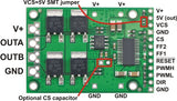 Pololu High-Power Motor Driver 18v25 CS (25A 5.5-30V)