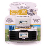 Yankee Candle Air Freshener for Roomba (Clean Cotton RoomAroma Starter Pack)