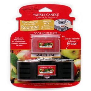 Yankee Candle Air Freshener for Roomba (Macintosh Apple RoomAroma Starter Pack)