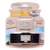 Yankee Candle Air Freshener for Roomba (Sun & Sand RoomAroma Starter Pack)