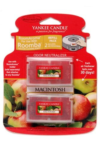 Yankee Candle Air Freshener for Roomba (Macintosh Apple RoomAroma Refill Pack)
