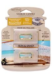 Yankee Candle Air Freshener for Roomba (Sun & Sand RoomAroma Refill Pack)
