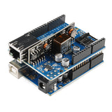 Arduino Ethernet SHIELD Rev3 WITH PoE (from arduino.org)