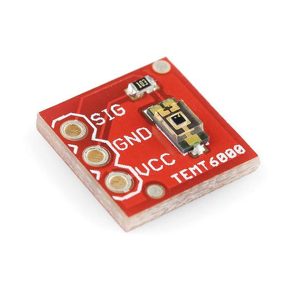 SparkFun Light Sensor (TEMT6000 Analog) Breakout Board