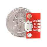 SparkFun Breakout Board for USB micro-B