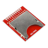 SparkFun Breakout Board for SD-MMC Cards