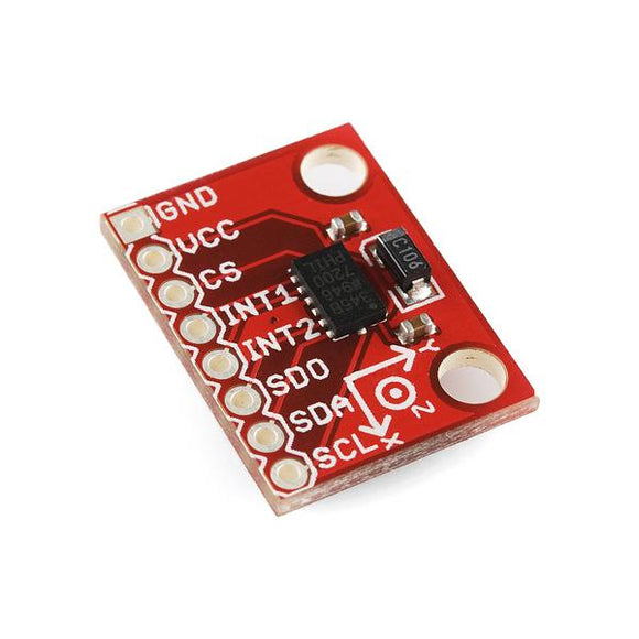 SparkFun 3g Triple Axis Accelerometer Breakout (ADXL345 Digital)