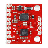 IMU Analog Comba Board - 5 Degrees of Freedon (IDG500/ADXL335)