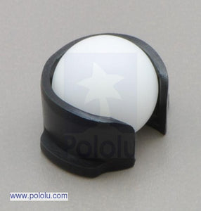 "Pololu Replacement 3pi Ball Caster with 1/2"" Plastic Ball"