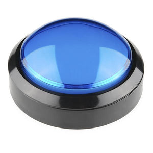 Big Dome Push Button (Blue)